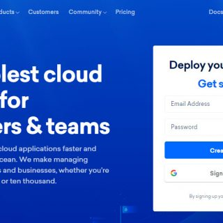 digitalocean official site