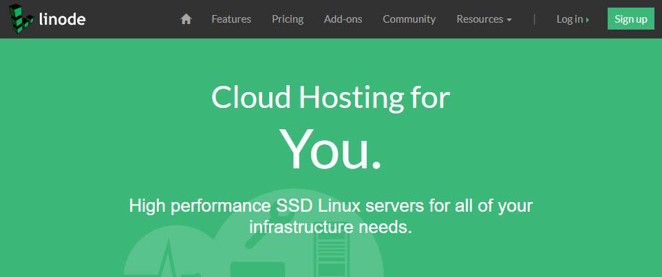 linode cloud hosting provider