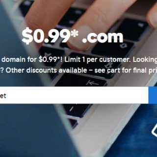 godaddy 99 cent .com domain coupon