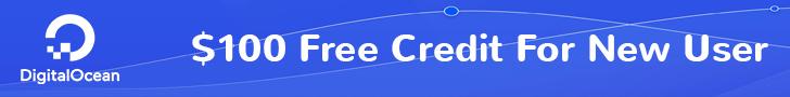 Free 100$ DigitalOcean Credit